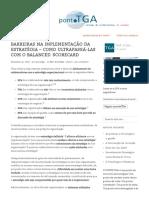 Barreiras Na Implementação Da Estratégia – Como Ultrapassá-las Com o Balanced Scorecard _ Pontotga