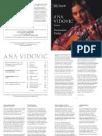 Ana Vidovic - The Croatian Prodigy