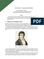 Aquecimento Global Fourier