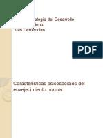 Neuropsicología del Desarrollo Demencias