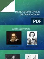 Microscopio Optico de Campo Claro