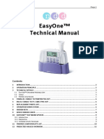 Manual Technical Easyone