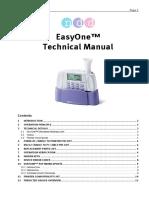 Manual Technical Easyone