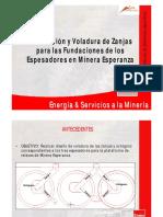 Diseño Zanjas Espesadores_Presentación 20 - Enaex #8. Luis Loyola