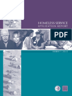 Homeless Service Utilization 2015
