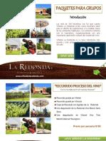 Paquetes Para Grupos La Redonda