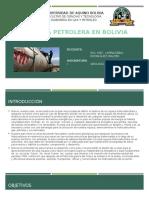 Geología Petrolera en Bolivia
