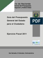 DC4 Gu a Del Presupuesto Para El Ciudadano 2011