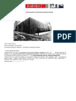 Arquitectura, Diseño y Filosofia en Heidegger