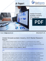 Global Dinoseb-Acetate Industry