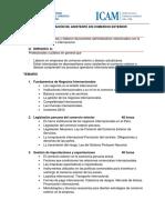 Temario Certificacion Asistente Comercio Exterior