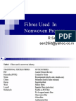 2.Fibres Used and Consumption in Nonwoven