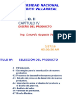 P.C.O. II CAP. 4 Diseño del producto (1).pptx