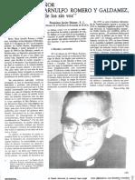 Articulo Sobre Romero