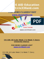 CIS 336 AID Education Expert/cis336aid.com