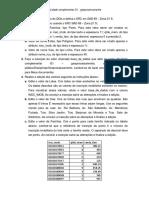 Instruções Complementar G1 - geoprocessamento