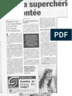 Article Sud Presse - De Baets - Bars - Tanya - X1