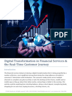 Digital Transformation in Financial Services & the Real-Time Customer Journey