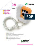 Brosur Zondan Fetal Doppler DS120A