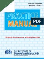 Caap Practice Manual Executive Prog
