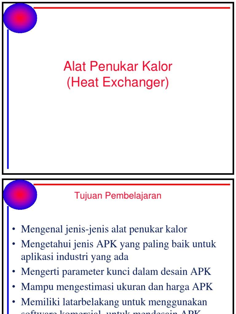 Materi alat penukar kalorteknik mesin ujb heat exchanger materi alat penukar kalorteknik mesin ujb heat exchanger transport phenomena ccuart Gallery