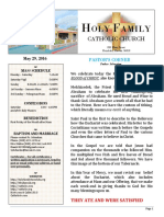 church bulletin 5-29-2016  floresdemayo