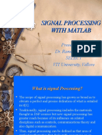 Signal Processing in Matlab