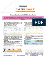 gk power capsule the hindu review march 2015