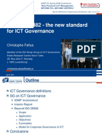 ISO IEC 29382 -The New Standard for ICT Governance