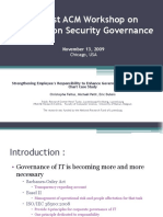 Strengthening Employee's Responsibility to Enhance Governance of IT – COBIT RACI Chart Case Study Ppt