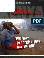 Peace Building and Conflict Management