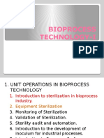 Bioprocess Technology i