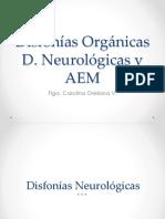 Patologías Vocales Neurologicas - Aem