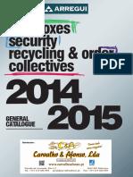Arregui General Catalogue 2014 CA
