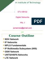 Digital Network- Lecturer1