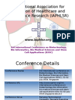 Iaphlsr- 3rd b3sc 2