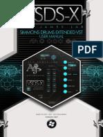 Vsdsx Simmons Sdsv Extended User Manual
