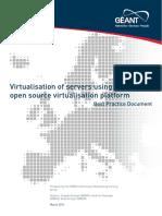 Cbp-70 Virtualization of Servers Using Xenserver Open Source Virtualization Platform