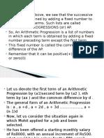 Arithmetic Progression.ppt