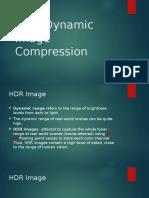 High Dynamic Image Compression v1