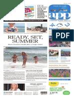 Asbury Park Press front page, May 27, 2016