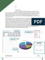 PivotTables PivotCharts Ref Guide 2013