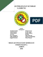 MAKALAH PERAWATAN KUMBAH LAMBUNG.docx