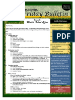 Parent Bulletin Issue 34 SY1516