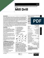 BSU Mill Drill Dayton 2LKP9 Rong Fu RF31 Owner's Manual