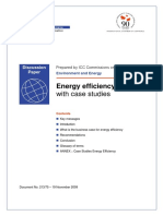 Energy Efficiency With Case Studies
