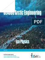 OE4680 2014 - Lecture 4 - Ice Physics