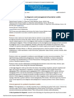 Current Approach in the Diagnosis and Management of Posterior Uveitis
