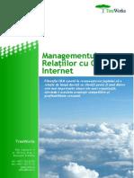 Managementul RelatIilor Cu Clientii Pe Internet