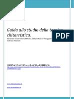 Alfonso D'Avino Chitarra - Promo Guida Allo Studio Della Tecnica Chitarristica